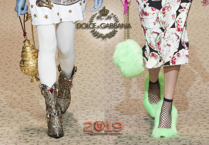Ayakkabı Dolce & Gabbana sonbahar-kış 2018-2019 göster