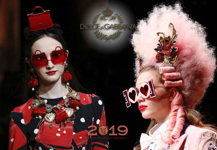 Очки Dolce & Gabbana осень-зима 2018-2019