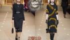 Сдержанные черные платья от Dolce & Gabbana зима 2018-2019