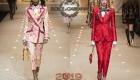 Parlak bayan takım elbiseleri Dolce & Gabbana kış 2018-2019