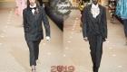 Erkekler Dolce & Gabbana tarzında sonbahar-kış 2018-2019