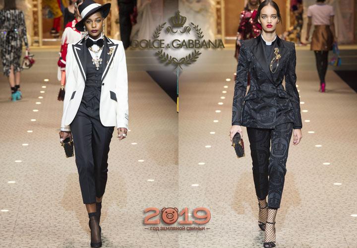 Модные женские костюмы осень-зима 2018-2019 года