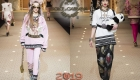 Спорт-шик Dolce & Gabbana зима 2018-2019