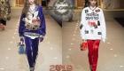 Spor tarzı Dolce & Gabbana kış 2018-2019