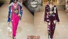 Moda spor tarzı Dolce & Gabbana kış 2018-2019