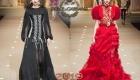 Akşam elbise Dolce ve Gabbana sonbahar-kış 2018-2019