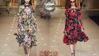 Moda elbiseler Dolce & Gabbana sonbahar-kış 2018-2019