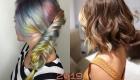 Модное мелирование на светлые волосы 2019 год
