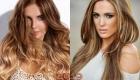 Калифорнийское мелирования мода окрашивания волос 2019 года