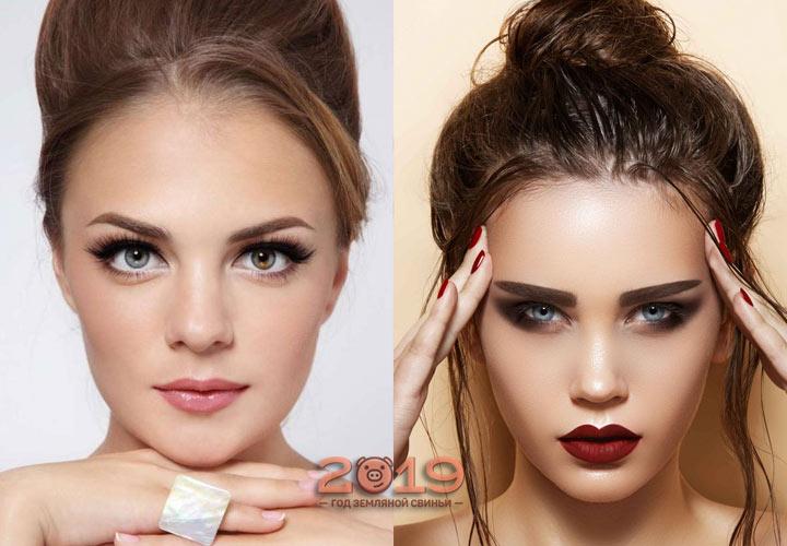 Тренды макияжа зимы 2018-2019 года