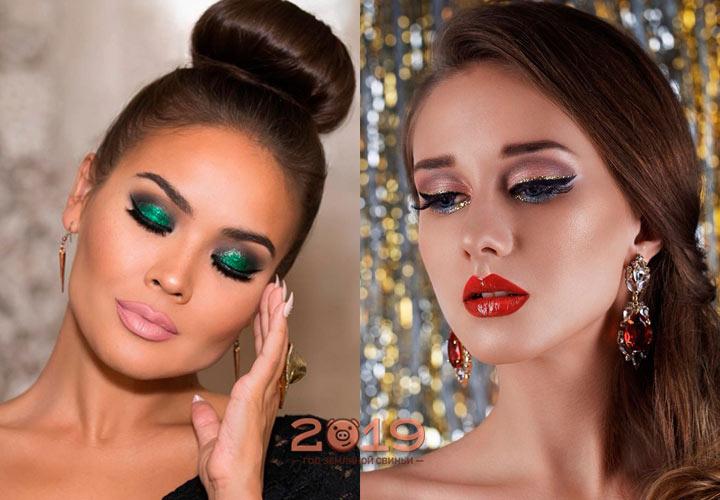 Стильный макияж на 2019 год
