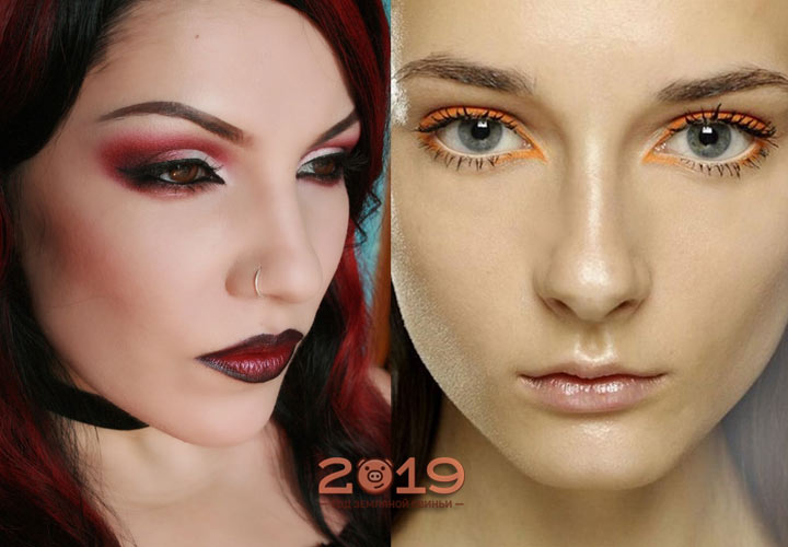 Модные оттенки макияжа в 2019 году