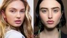 Модный нюдовый макияж 2019 года