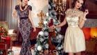 Модное новогоднее платье 2019 года