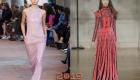 Модные оттенки новогодних платьев на 2019 год