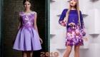 Новогоднее платье 2019 с цветами