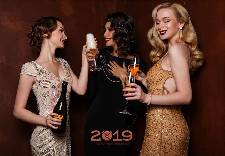 Лучшие модели новогодних платьев на 2019 год