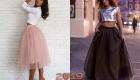 Модные юбки для новогоднего торжества 2019 года