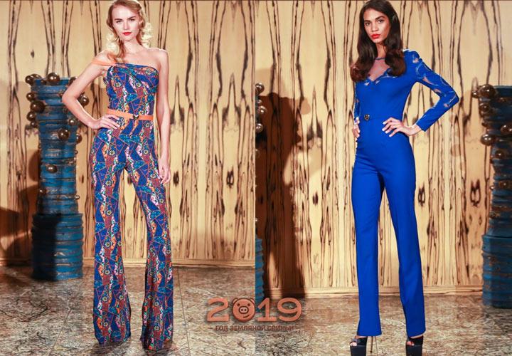 Модный комбинезон - альтернатива новогоднему платью на 2019 год
