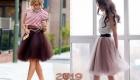 Пышные юбки для новогоднего образа 2019 года
