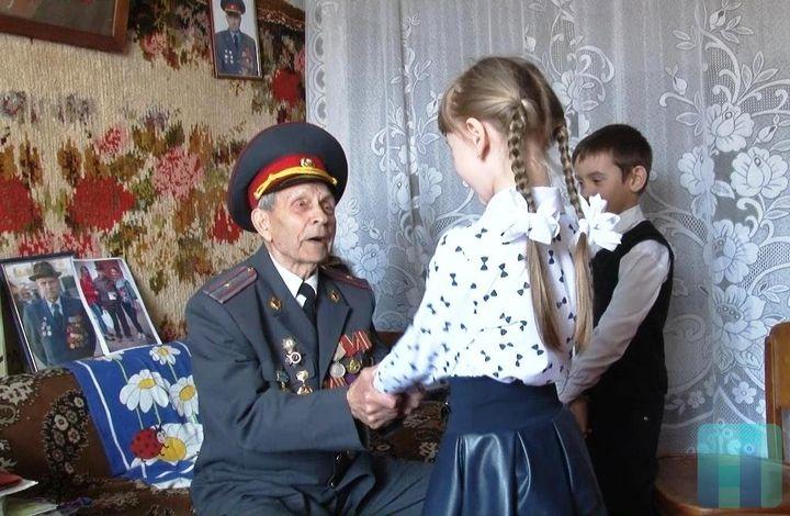 Школьник и ветеран