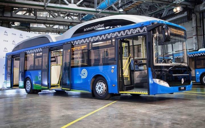 Электробус ЛиАЗ 2018-2019 года