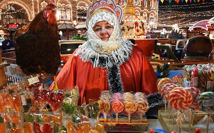 Все новогодние ярмарки Москвы в 2019 году