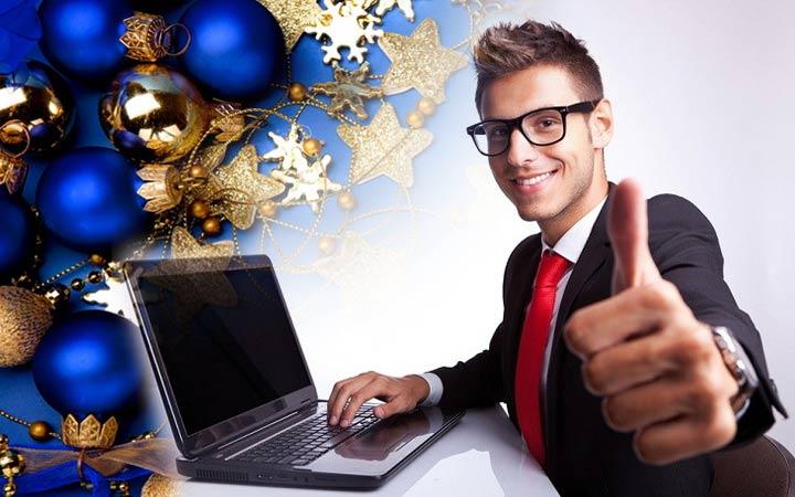 Поздравление для корпоративных клиентов с Новым 2019 годом