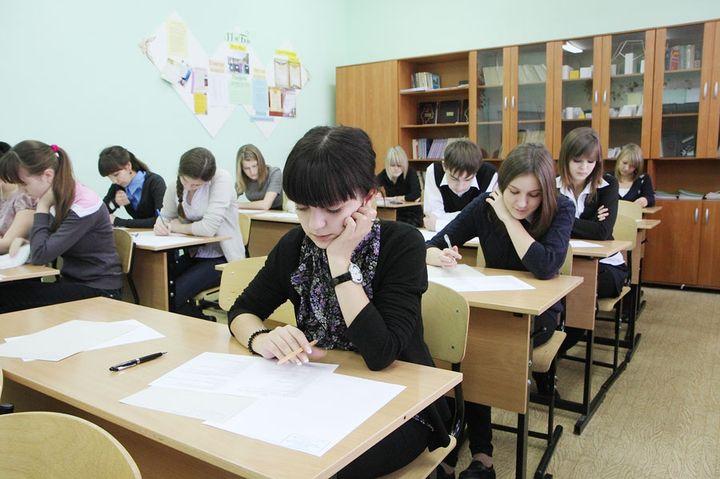 Школьники на Курчатовской олимпиаде