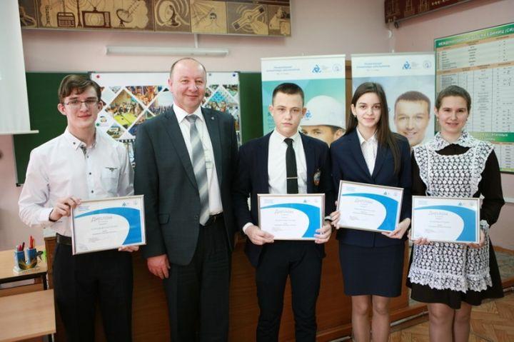 Награждение победителей Курчатовской олимпиады