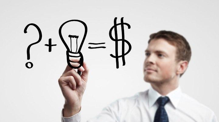 вопрос+идея=доллары