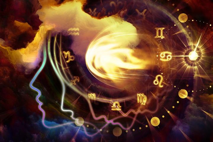 лица, знаки зодиака, луна