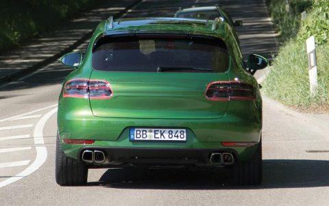 Rear bumper new 2018-2019 Porsche Macan