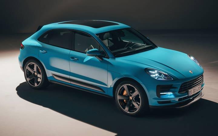 Новый дизайн Porsche Macan 2019