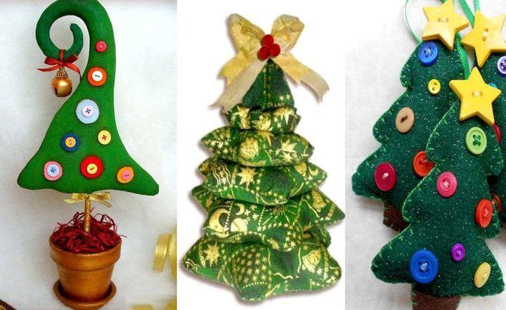 Новогоднее рукоделие: елка