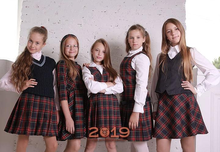 Модная школьная форма 2019 года