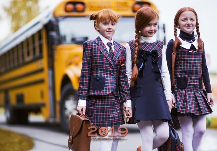 Красивые модели формы для школьниц