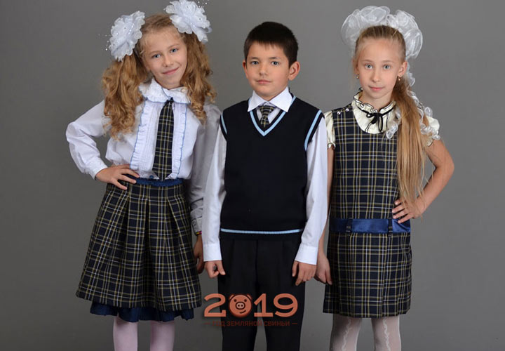 Модные школьники 2019 года