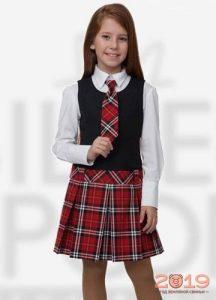 Красивая юбка для школы