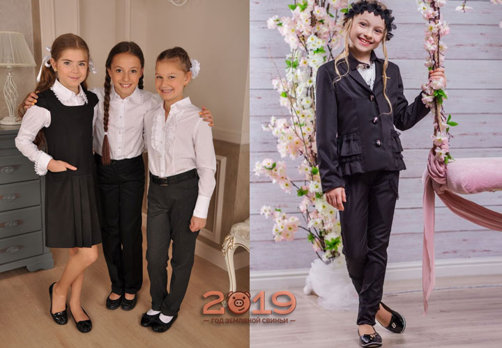 Стильная школьная форма для модниц