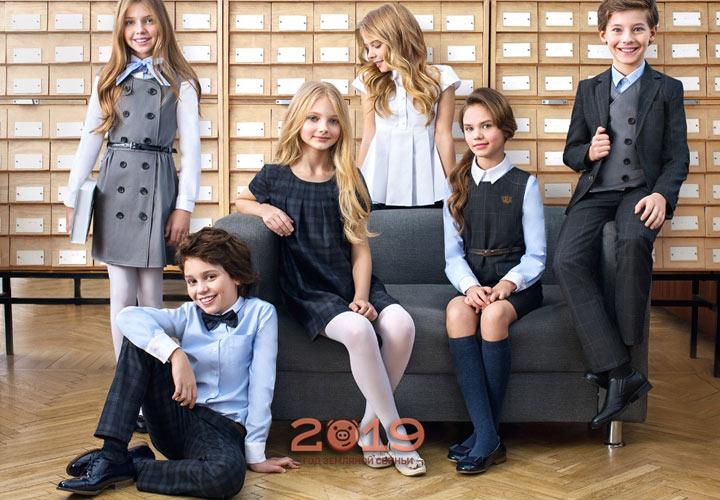 Мода для школьников зима 2018-2019 года