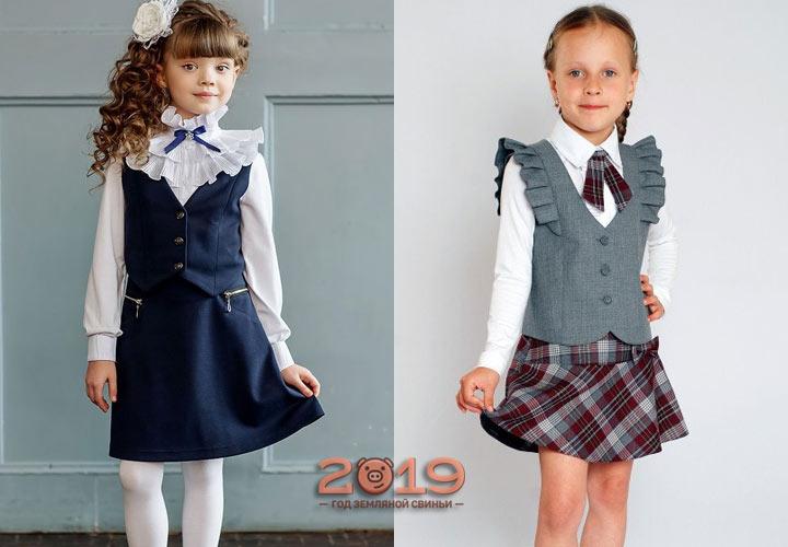 Модная форма для малышек на 2019 год