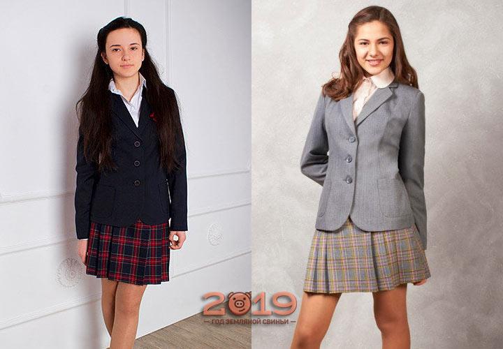 Модная форма для девушки-подростка на 2019 год