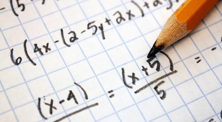 тетрадь с вычислениями