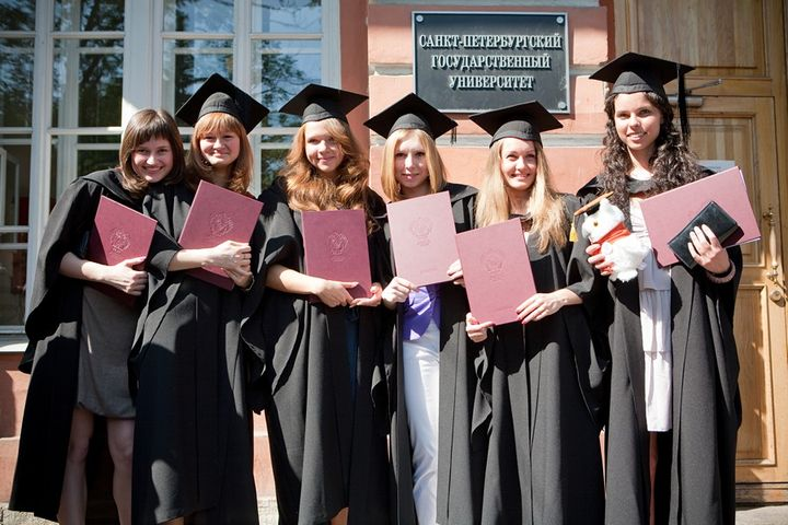 Graduates of St. Petersburg State University