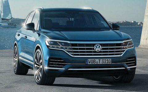 Новый кузов Volkswagen Touareg 2019 года