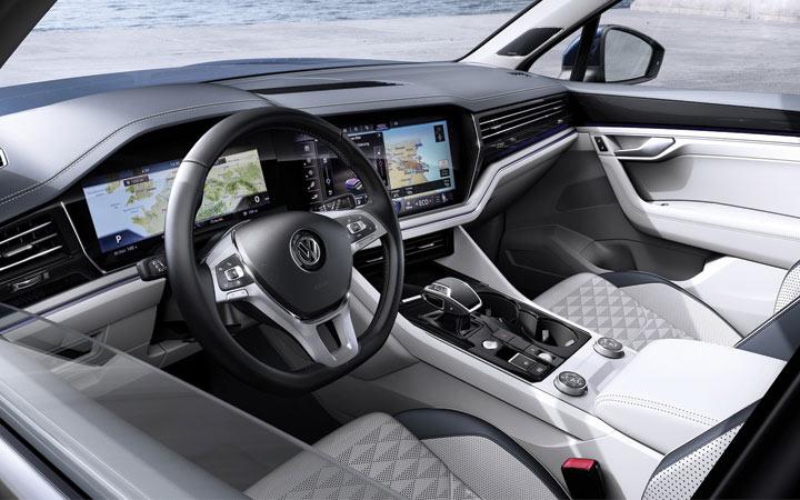 Интерьер Volkswagen Touareg 2019
