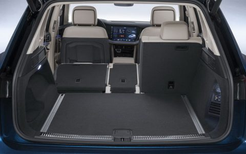 Багажник Volkswagen Touareg 2018-2019
