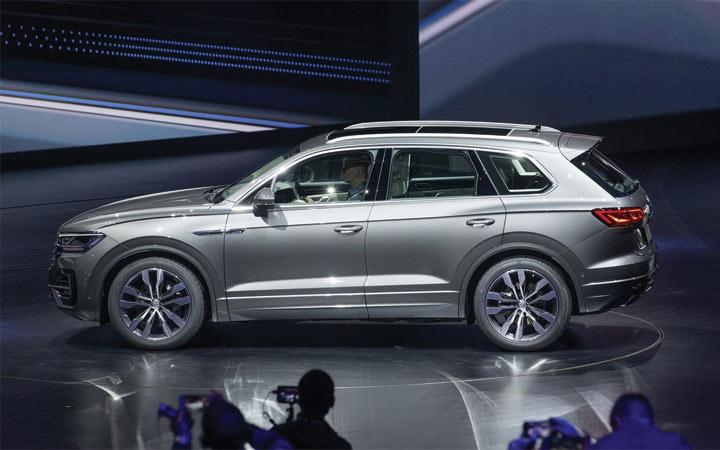 Новый Volkswagen Touareg 2018-2019