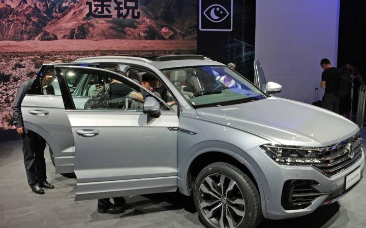 Экстерьер Volkswagen Touareg 2018-2019 года